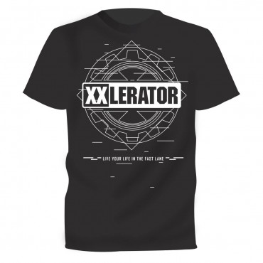 XXlerator - Live your life in the fast lane t-shirt