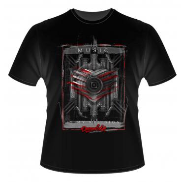 Dreamfields music is my religion t-shirt